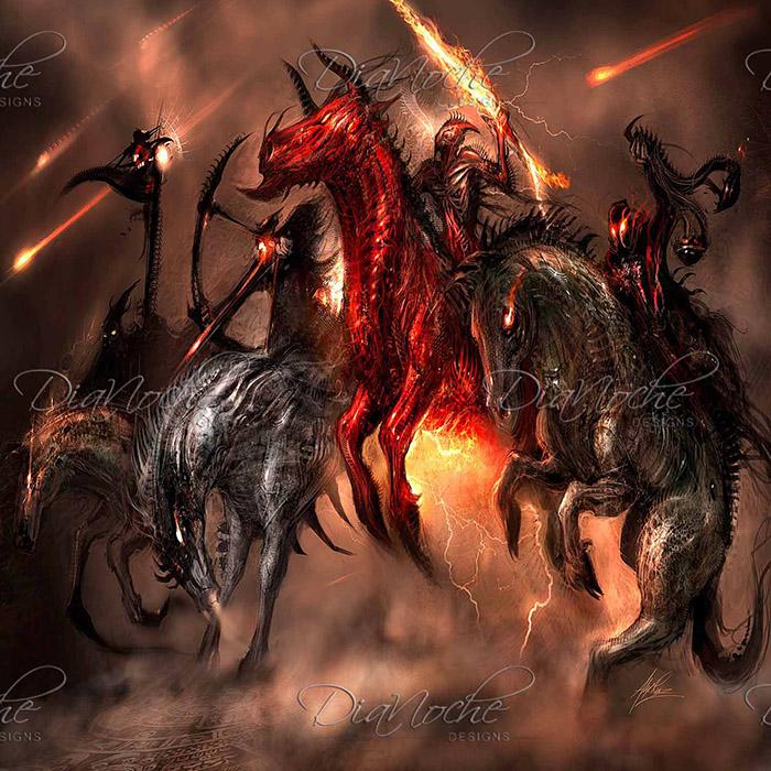 DiaNoche Designs Artist | Alex Ruiz - Four Horsemen