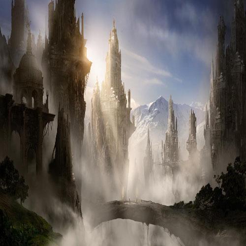 DiaNoche Designs Artist | Alex Ruiz - Skyrim Fantasy Ruins