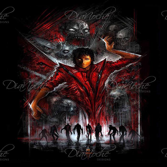 DiaNoche Designs Artist | Alex Ruiz - The Thriller Michael Jackson
