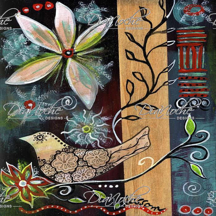 DiaNoche Designs Artist | Ann-Marie Cheung - Blossom