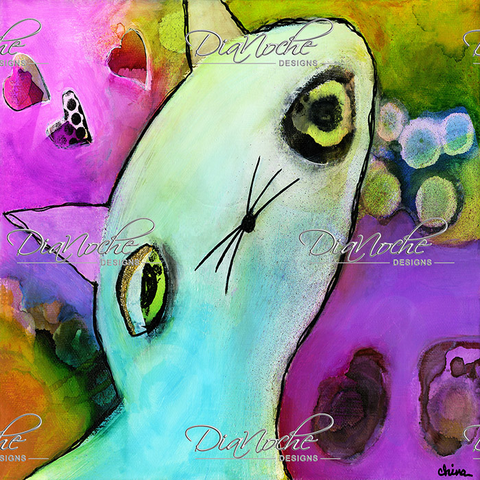 DiaNoche Designs Artist   China Carnella - Baby Gato