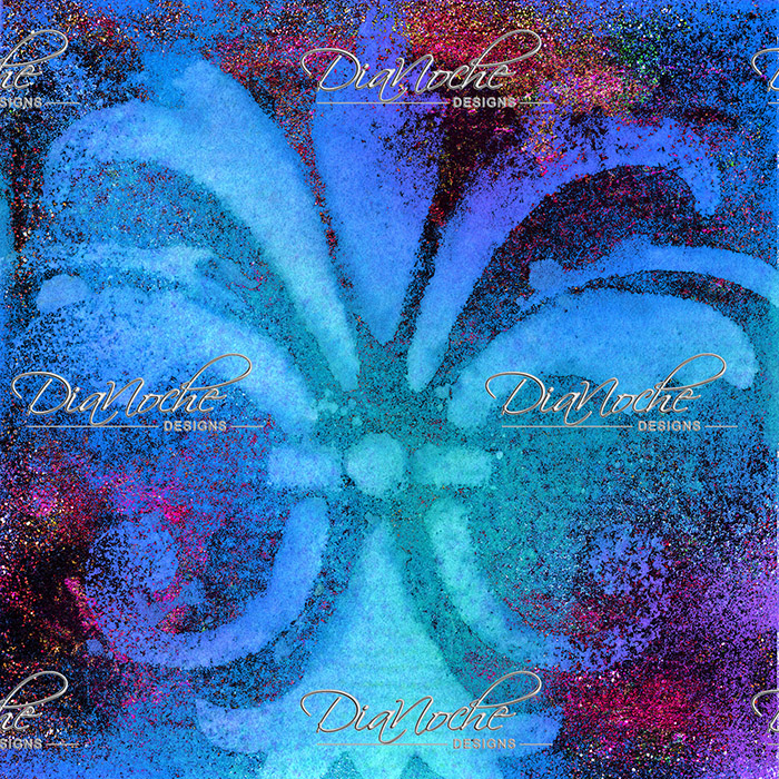 DiaNoche Designs Artist   China Carnella - Bleu de Sparkle