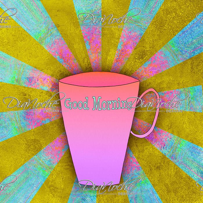 DiaNoche Designs Artist   China Carnella - Coffee Morning
