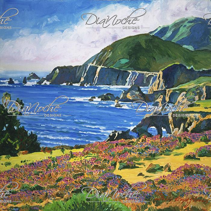DiaNoche Designs Artist | David Lloyd Glover - Big Sur 2