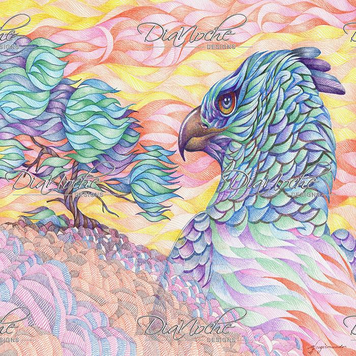 DiaNoche Designs Artist | Gerry Segismundo - Raptors Vigilance