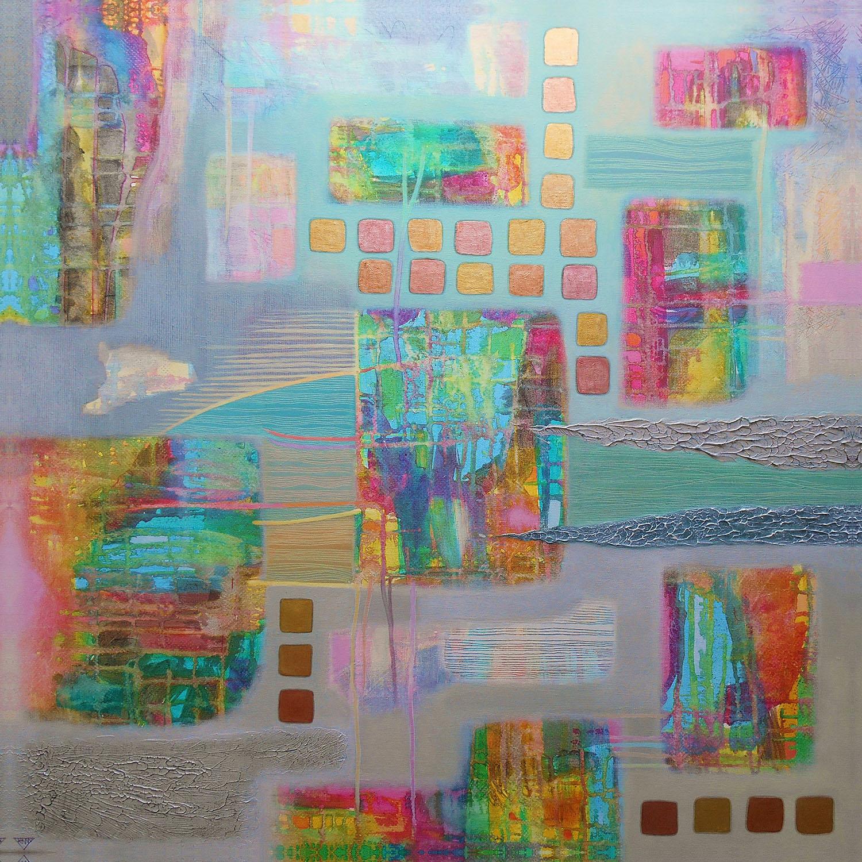 DiaNoche Designs Artist | Jennifer Baird - Bleedthrough II