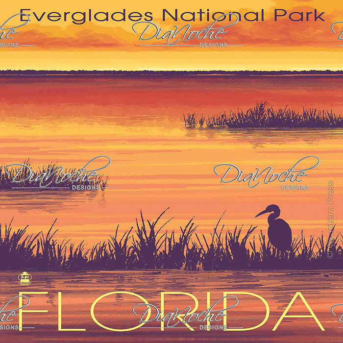 DiaNoche Designs Artist | Lantern Press - Everglades National Park Florida