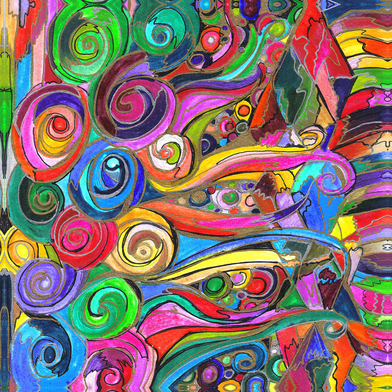 DiaNoche Designs Artist | Maeve Wright - Rainbow Fragment