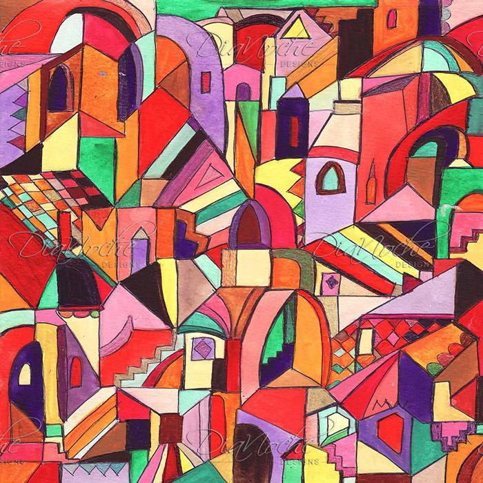 DiaNoche Designs Artist | Maeve Wright - The Ice Cream Colored Citidel