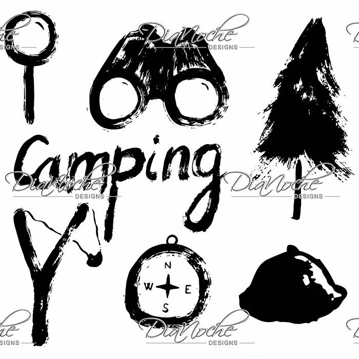 DiaNoche Designs Artist | Metka Hiti - Camping Equipment