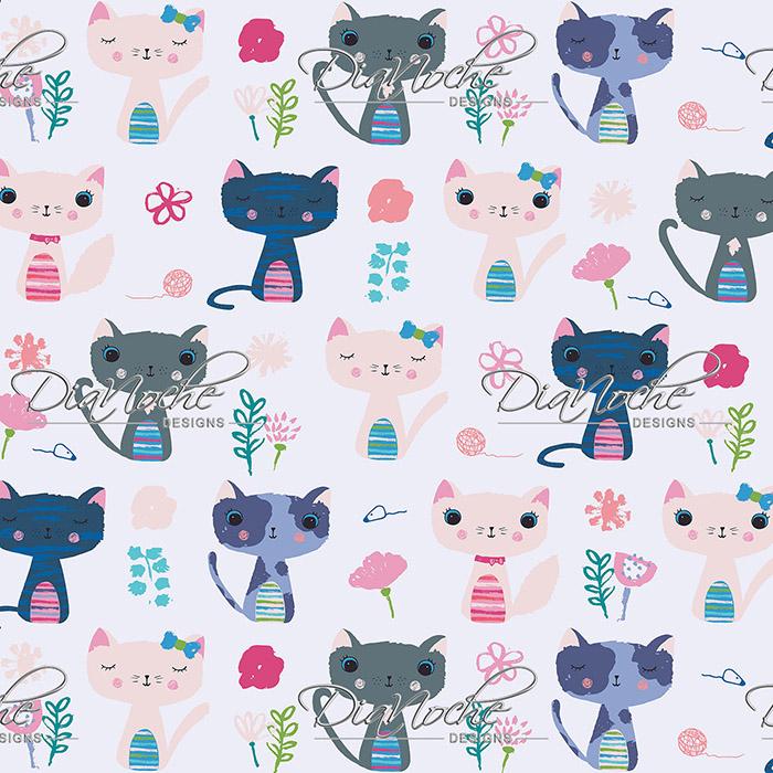 DiaNoche Designs Artist   Metka Hiti - Cats
