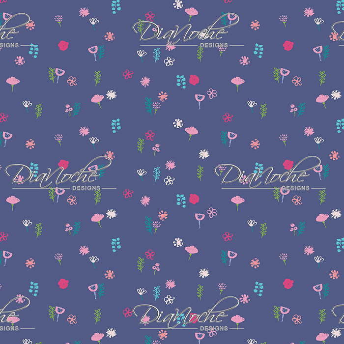 DiaNoche Designs Artist   Metka Hiti - Cats Flowers