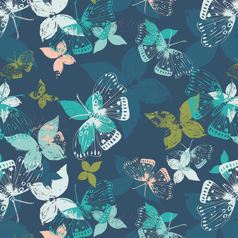 DiaNoche Designs Artist | Metka Hiti - Butterflies Blue