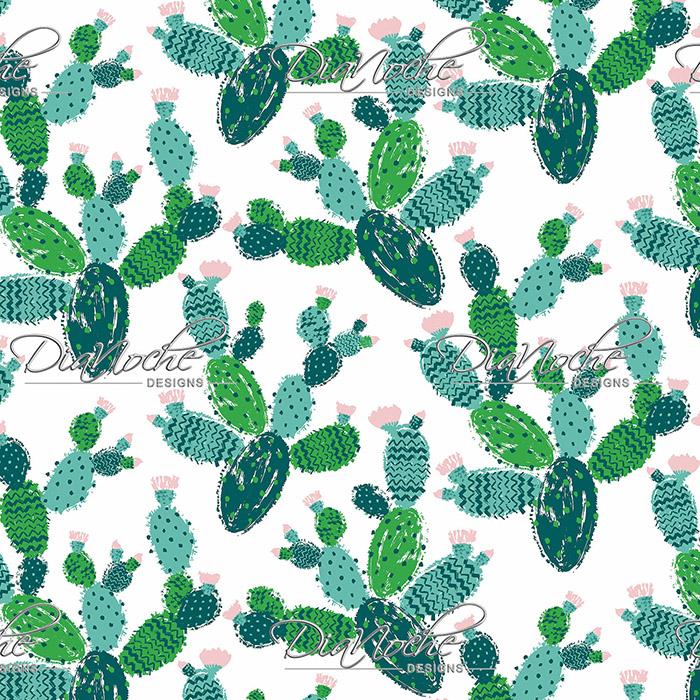DiaNoche Designs Artist   Metka Hiti - Cactus Green