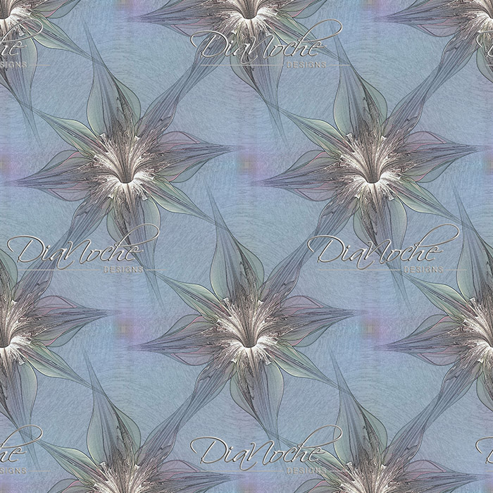 DiaNoche Designs Artist | Pam Amos - Blue Orchid