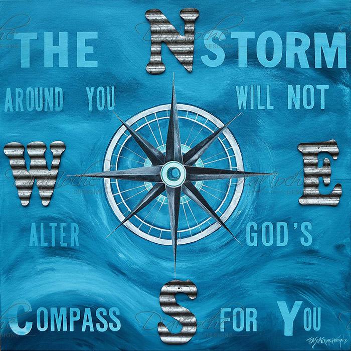 DiaNoche Designs Artist | Patti Schermerhorn - Gods Nautical Compass