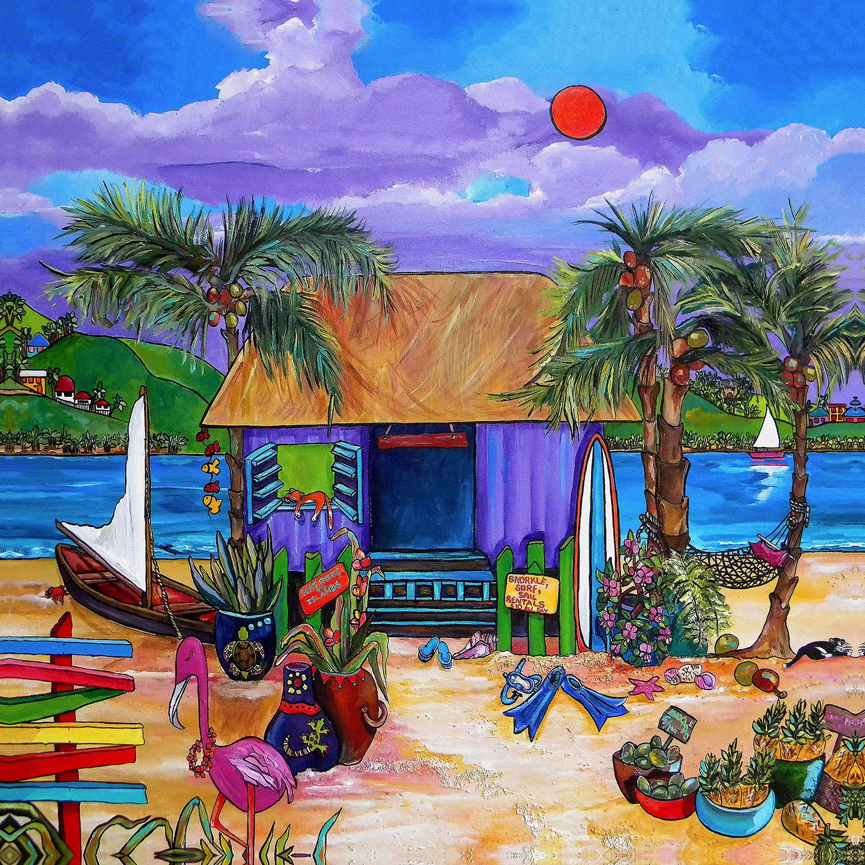 DiaNoche Designs Artist | Patti Schermerhorn - Island Time