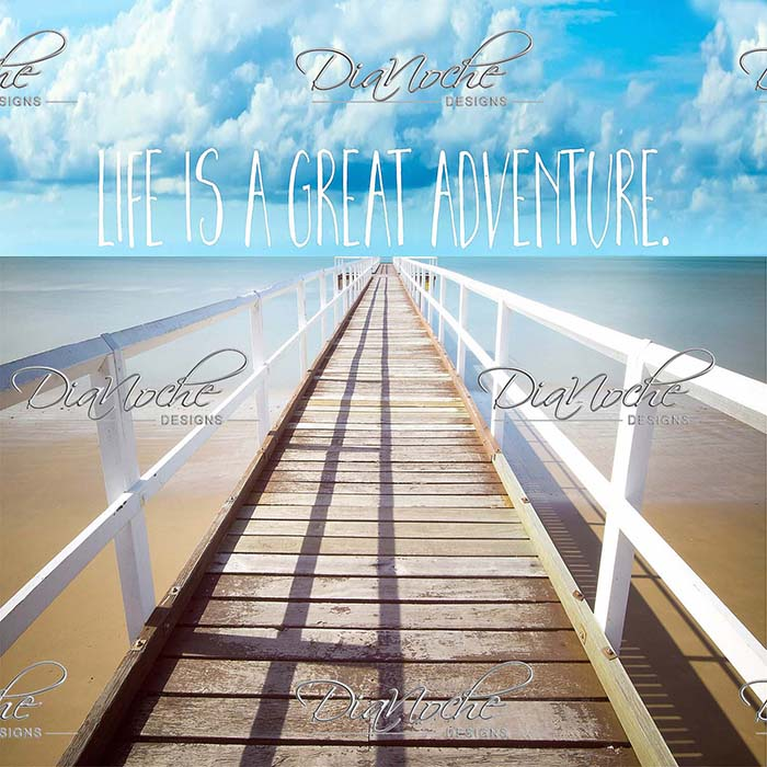DiaNoche Designs Artist | Tina Lavoie - Life is a Great Adventure