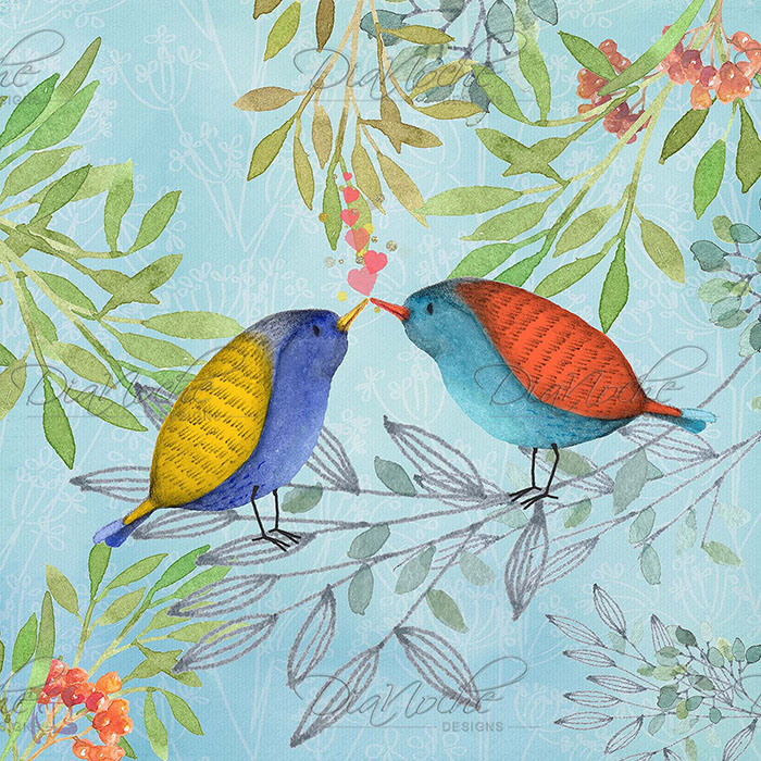 DiaNoche Designs Artist | Tina Lavoie - Morning Kiss