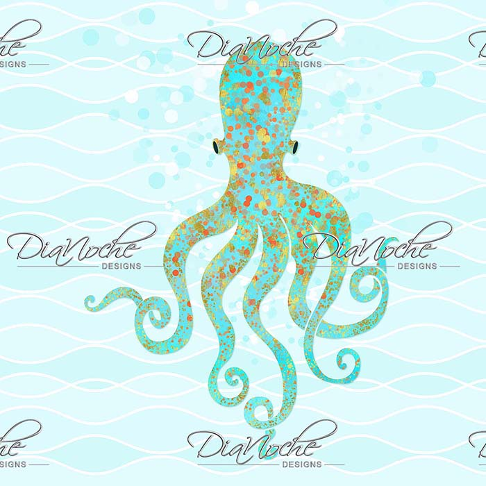 DiaNoche Designs Artist | Tina Lavoie - Olivia Octopus