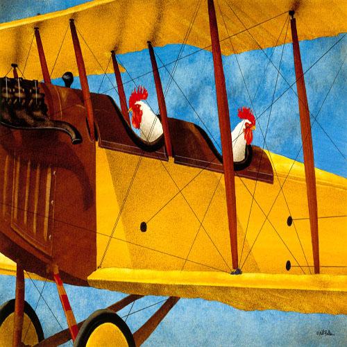 DiaNoche Designs Artist   Will Bullas - Cockpits
