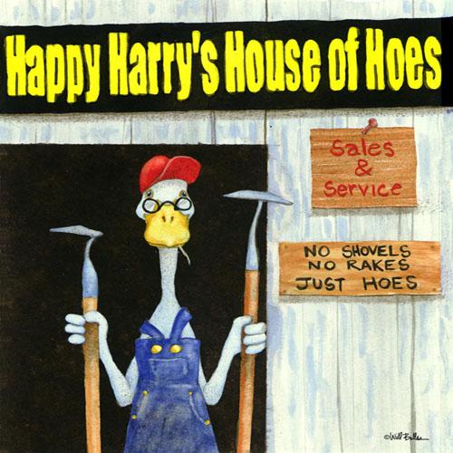DiaNoche Designs Artist   Will Bullas - Harrys Hoe House